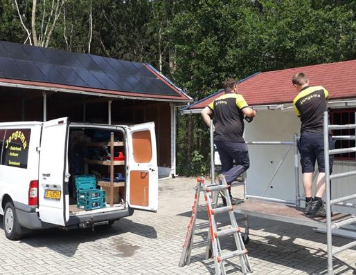 Klussenbedrijf Jongsma Emmeloord dakgoot dakwerken dakbedekking