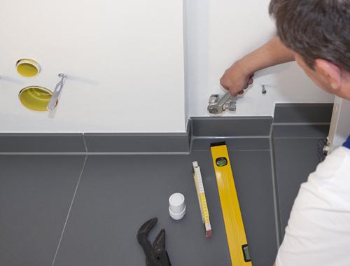 Klussenbedrijf Jongsma Emmeloord loodgieter badkamer